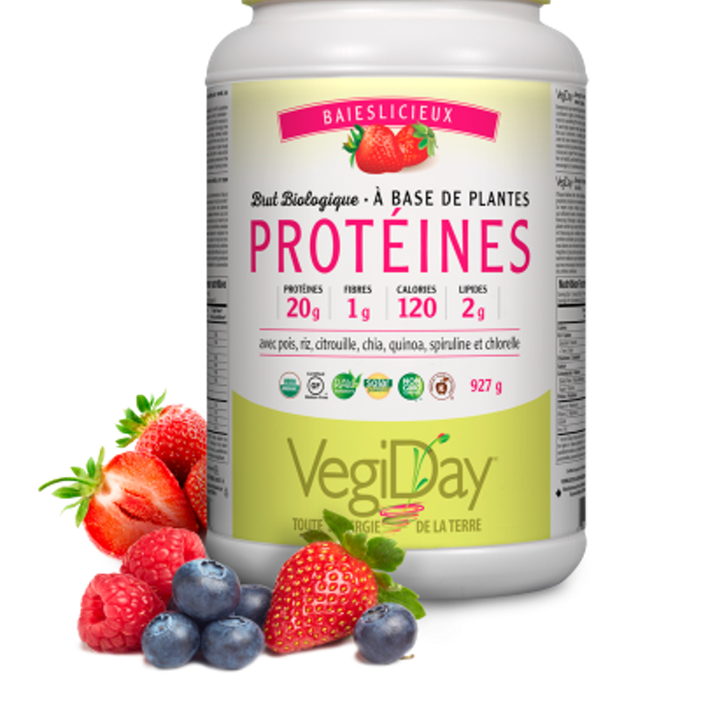 Raw Organic Plant-Based Protein - Berrylicious