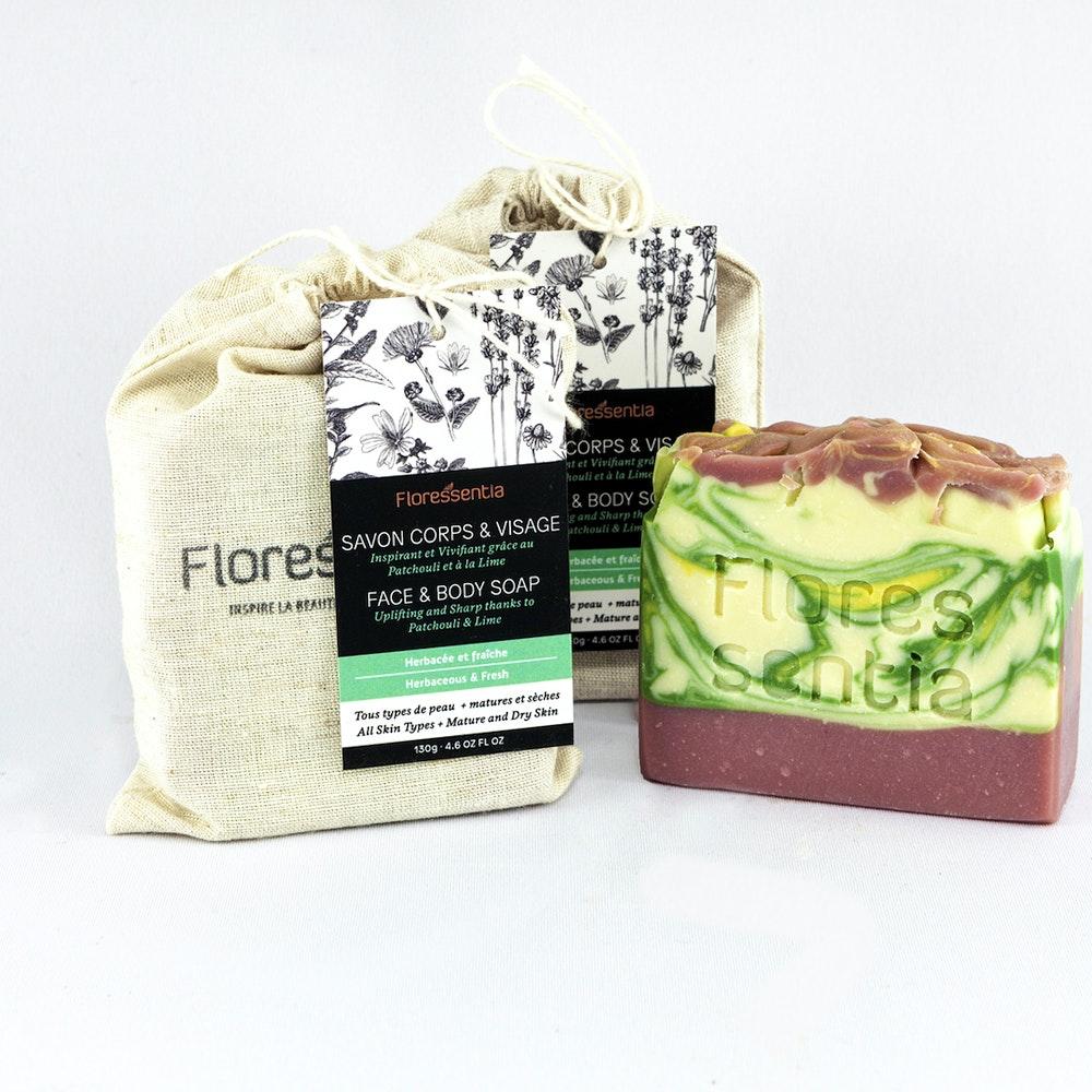 Savon corps et visage Citronée / face & body soap Lemon-scented