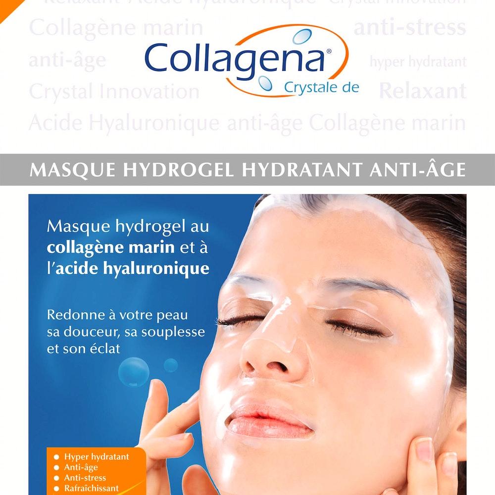 Masques hydrogel anti-âge (Crystale)