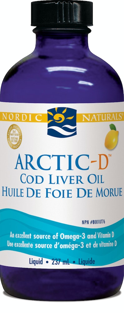 Arctic CLO with vitamin D (lemon)