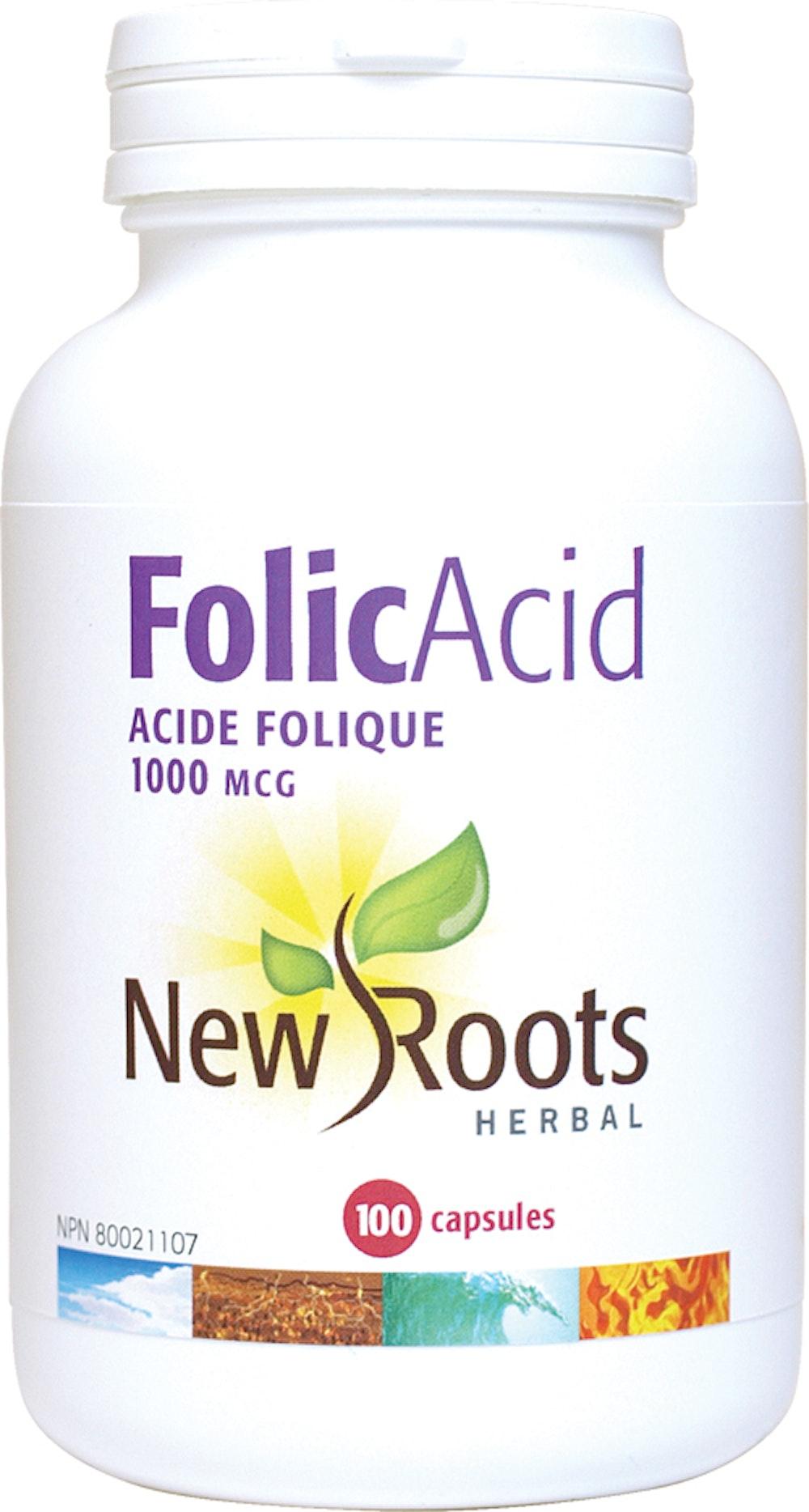 Acide Folique 1000 mcg