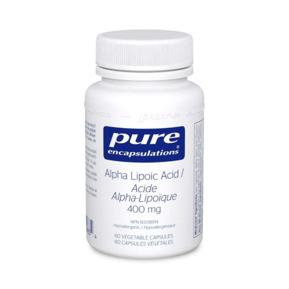 Acide alpha-lipoïque 400 mg