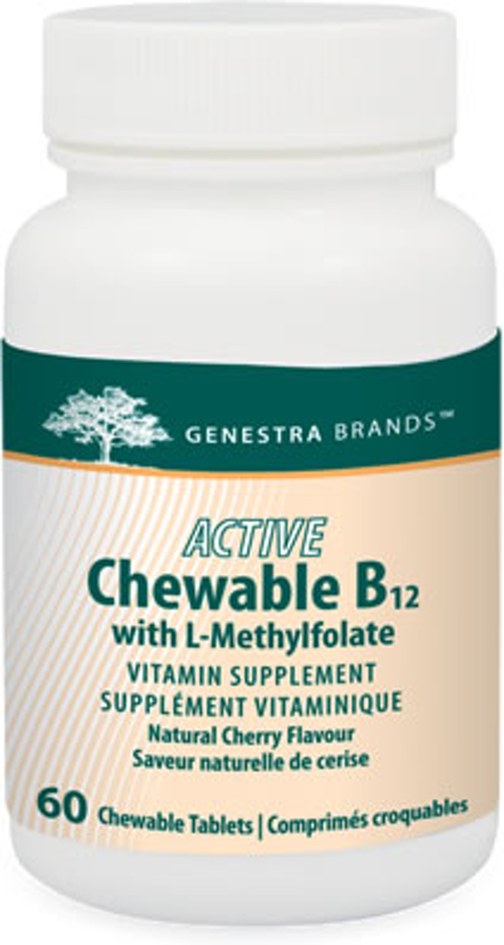 Active Chewable B12 avec L-Methylfolate