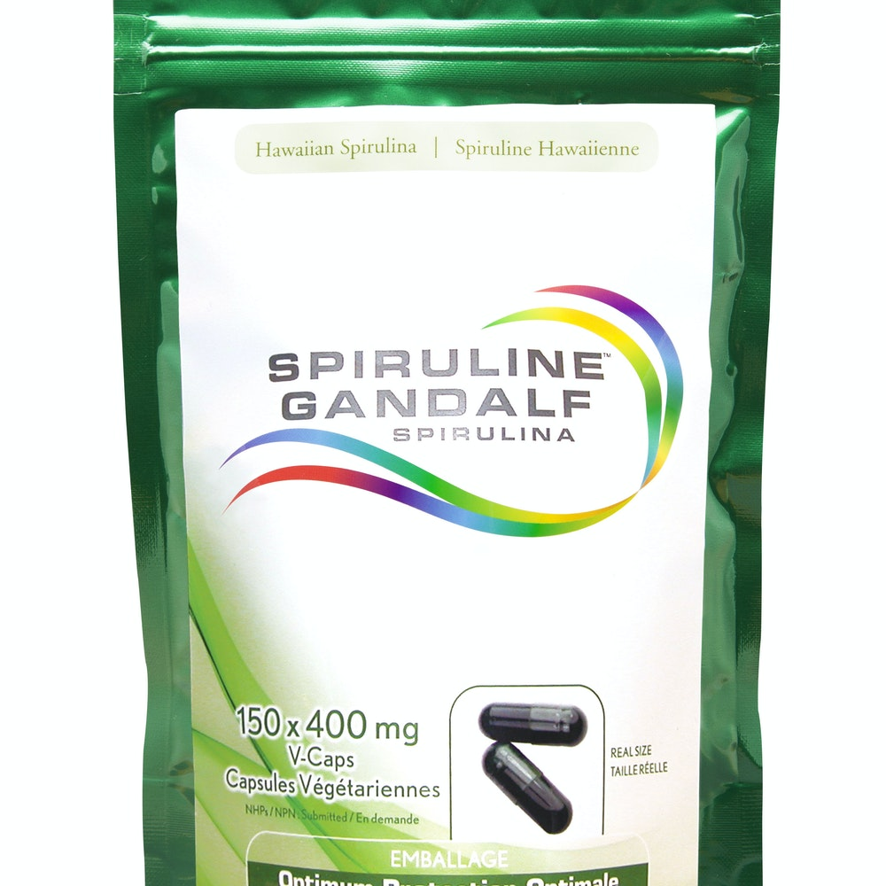 Spiruline Gandalf d'Hawai 400 mg
