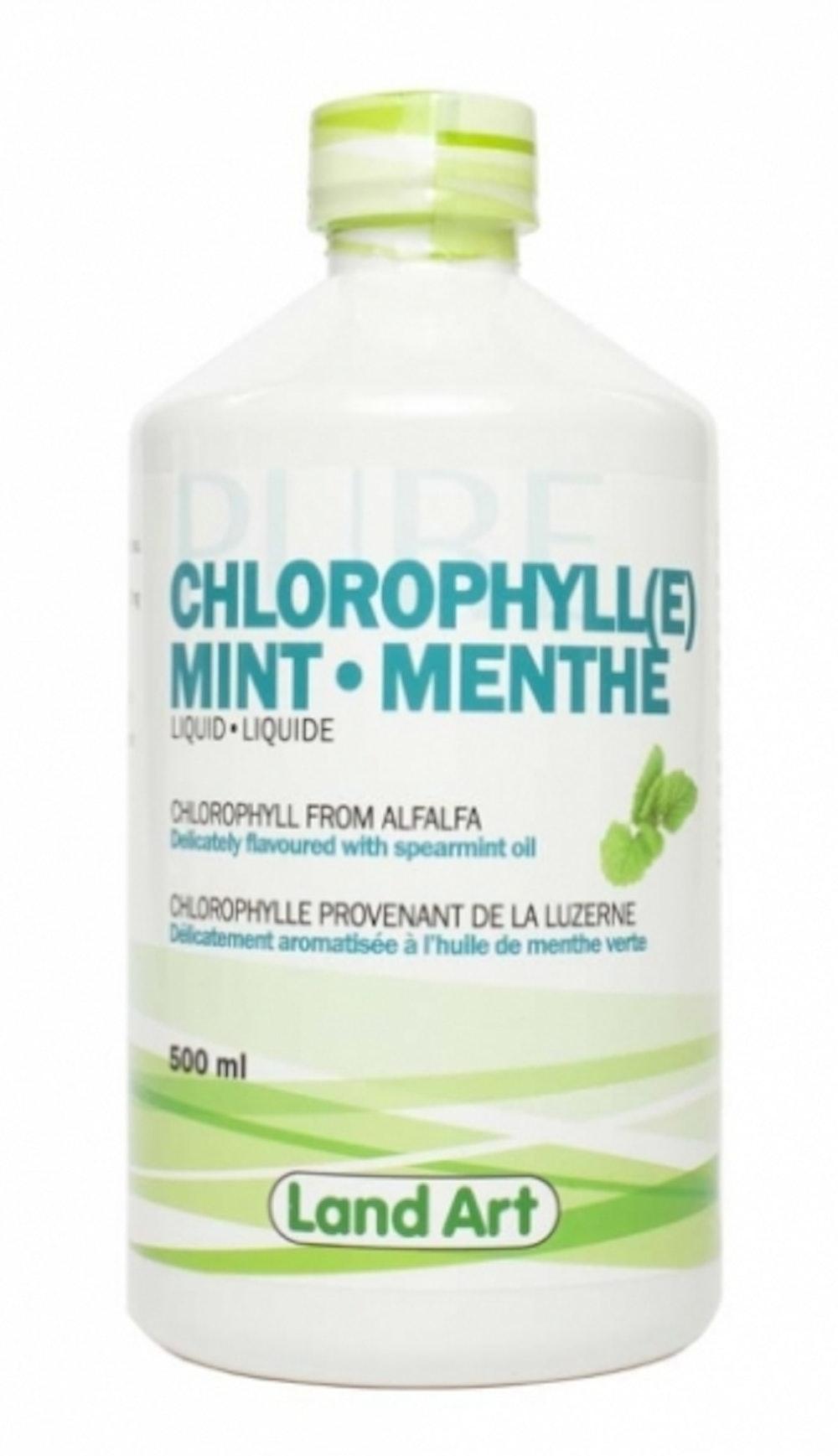 Chlorophylle menthe