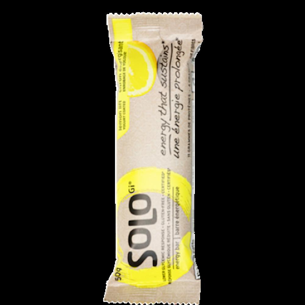 SoLo Barre Énergétique Citron Énergisant