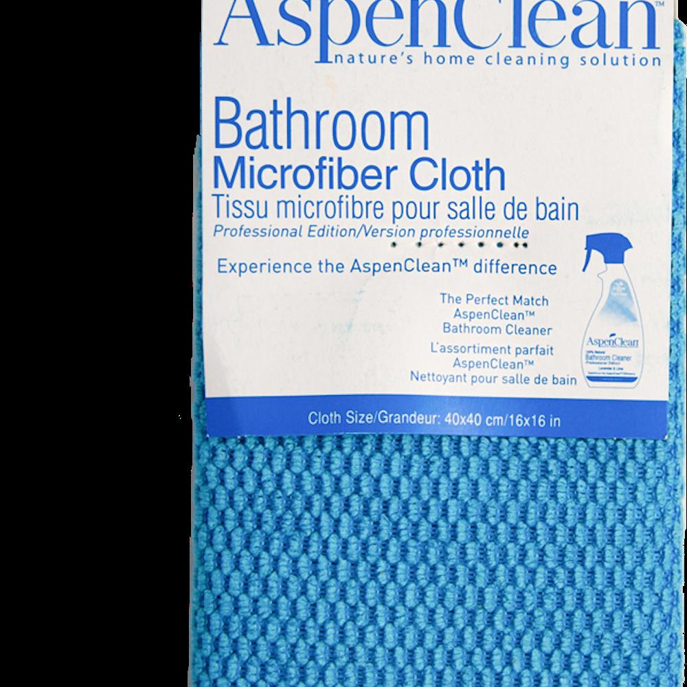 Tissu microfibre pour la salle de bain