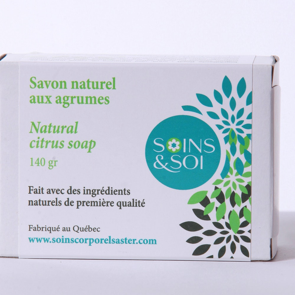 Citrus natural soap