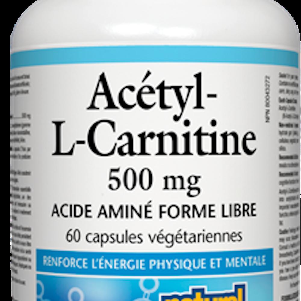 Acétyl-L-Carnitine - 500 mg