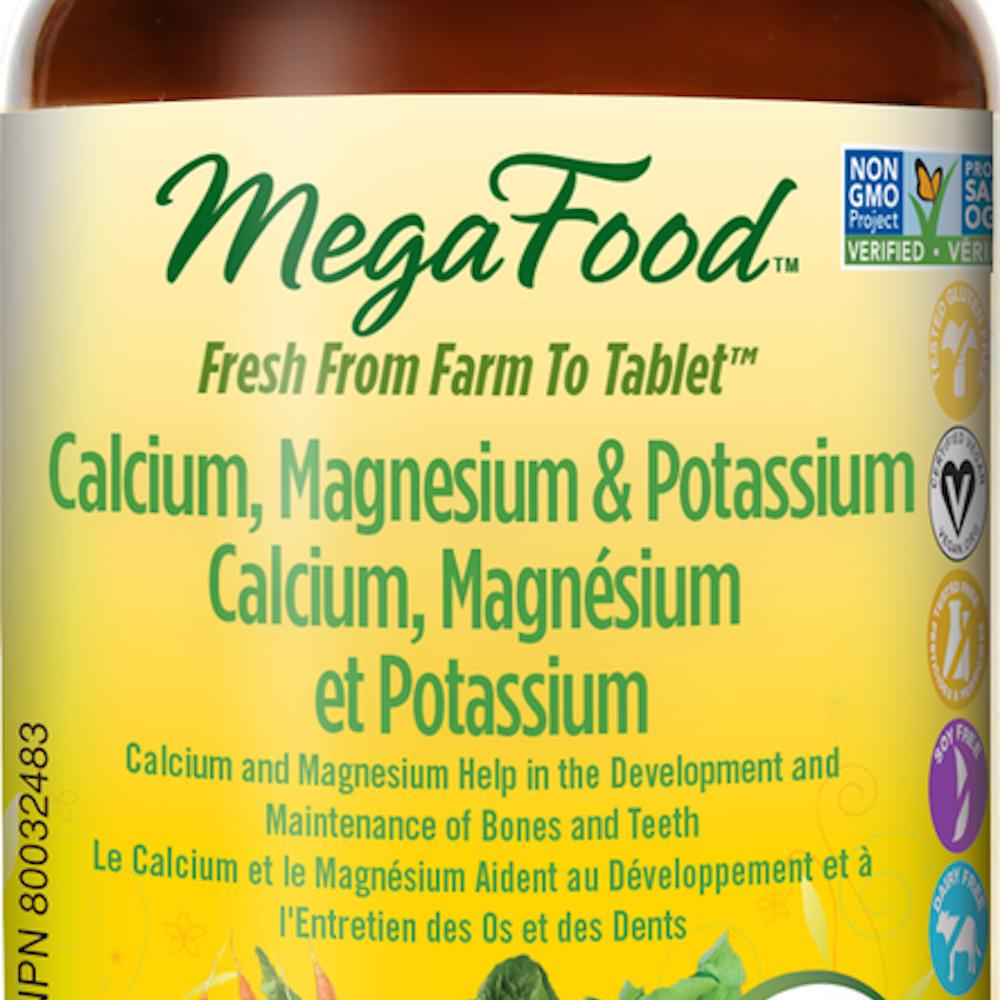 Calcium, Magnésium et Potassium DailyFoods - La Parapharmacie
