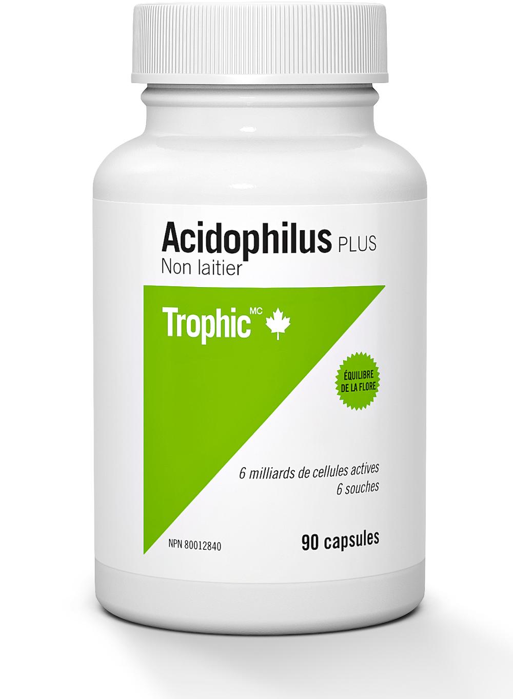 Acidophilus Plus (Sans produits laitiers - 6 milliards de cellules)