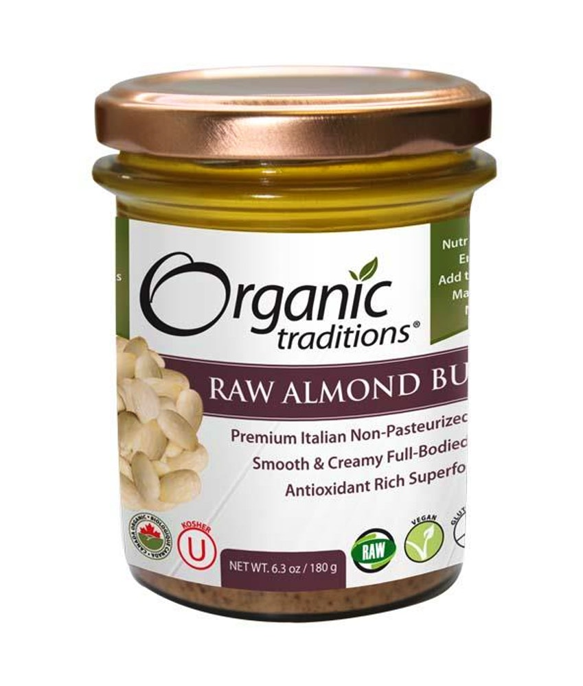 Almond Butter, Raw