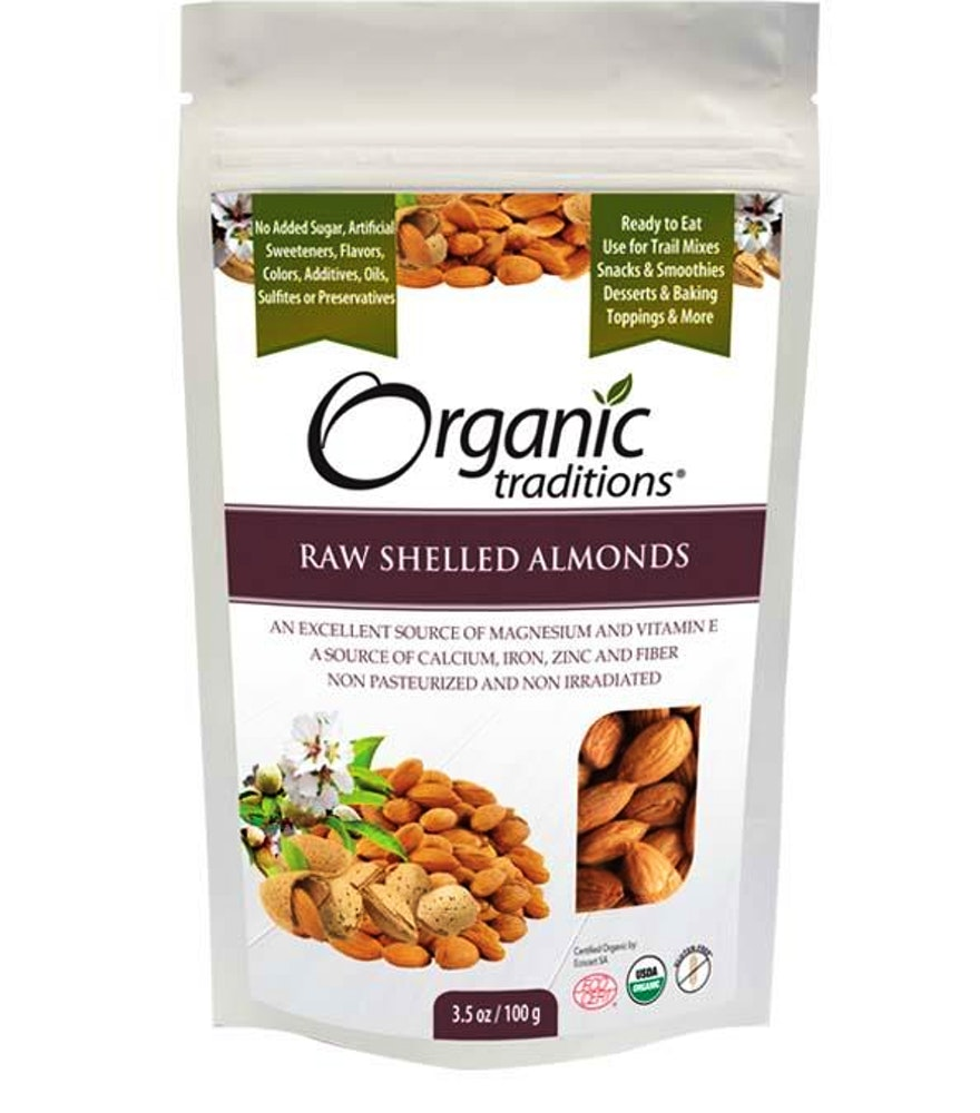 Almonds, Premium Raw Shelled