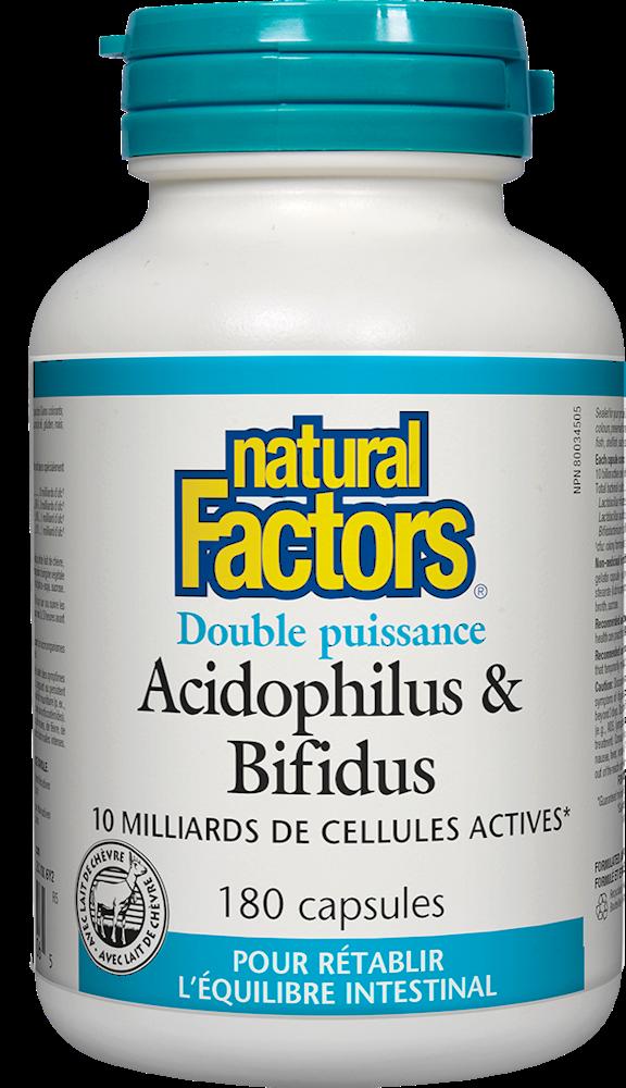 Acidophilus & Bifidus (Double Strength)