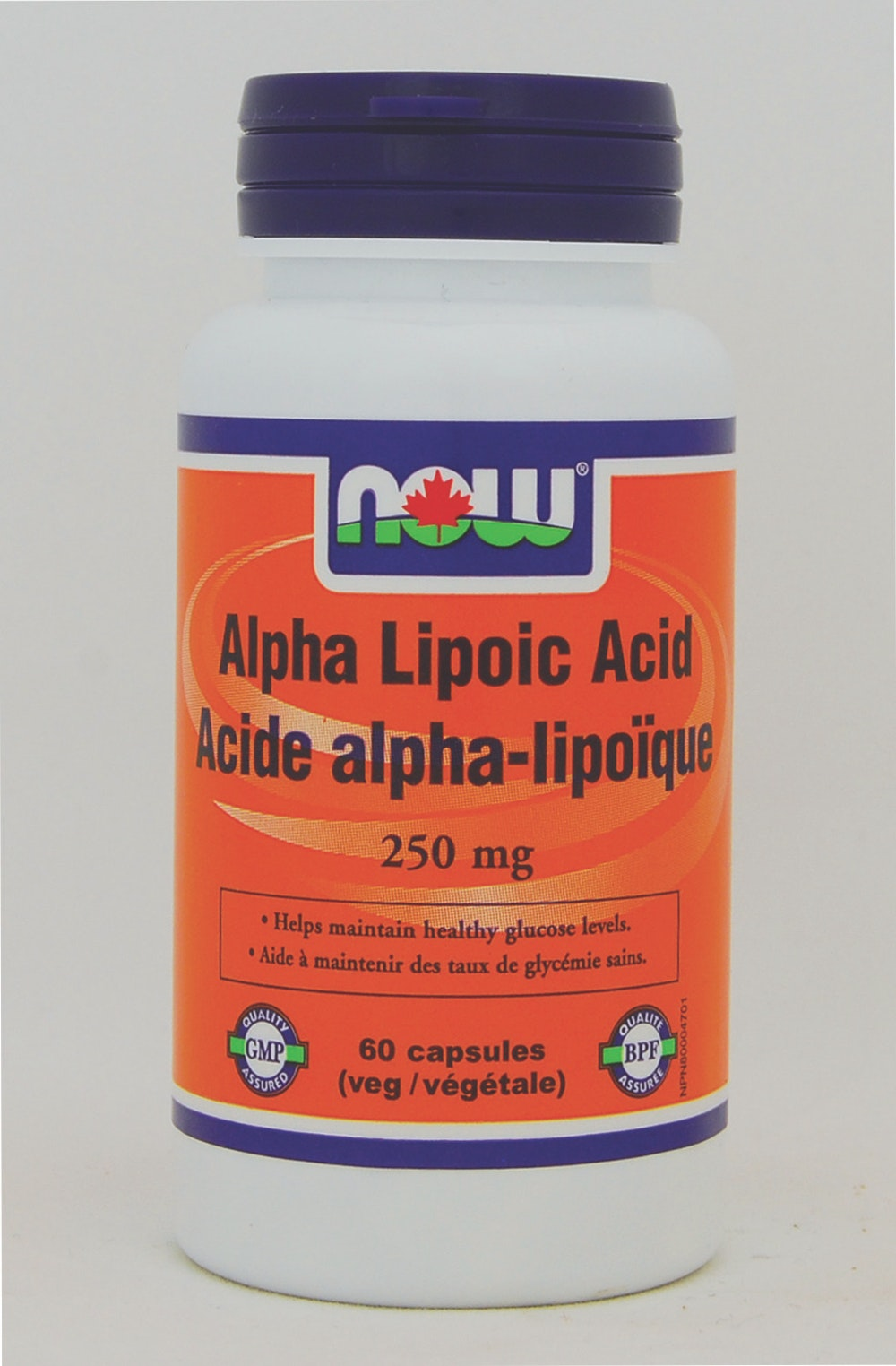 Acide alpha lipoïque 250 mg