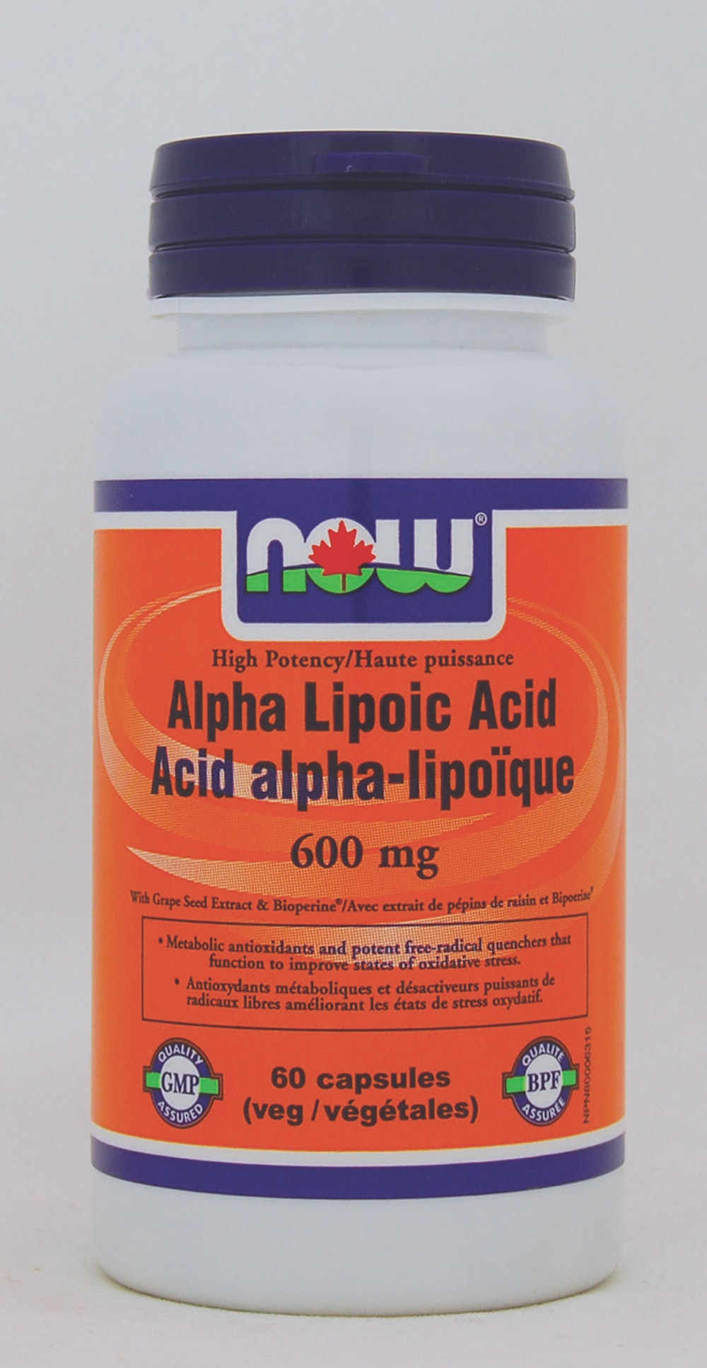 Acide alpha lipoïque 600 mg