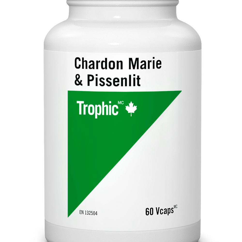 Chardon-Marie et pissenlit