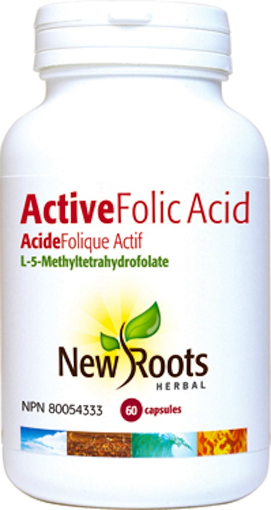 Active Folic Acid (L-5-methyltetrahydrofolate)