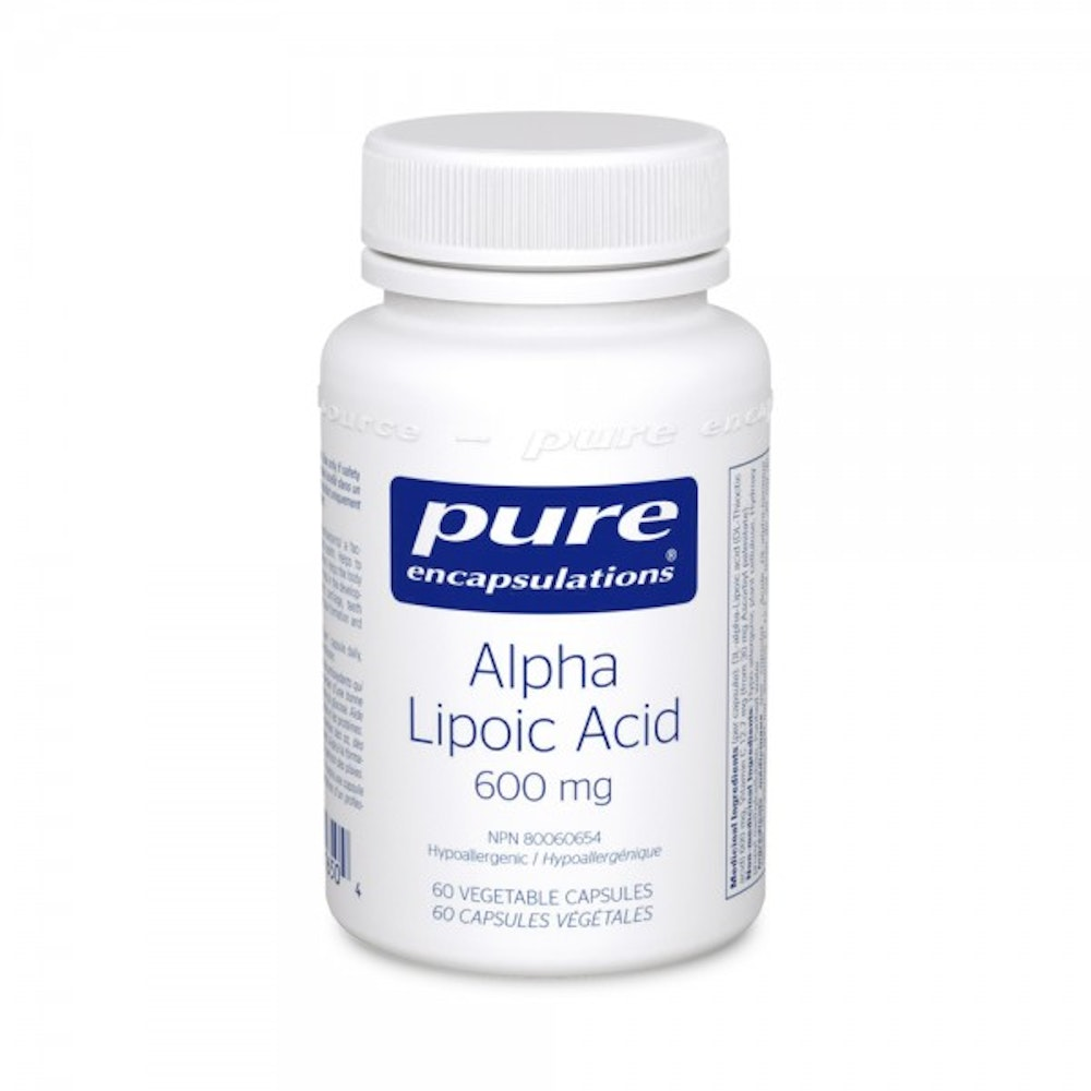 Acide alpha-lipoïque 600 mg