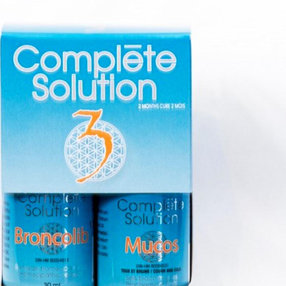 Complète solution 3 Broncholib (30 ml) + Mucos (240 comprimés)