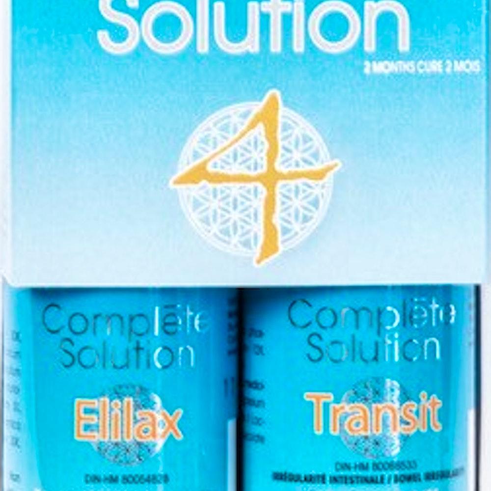 Complète solution 4 Elilax (30 ml) + Transit (240 comprimés)