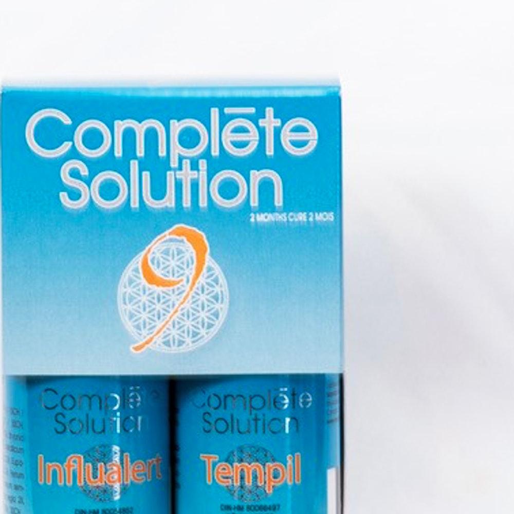 Complète solution 9 Influalert (30 ml) + Tempil (240 comprimés)