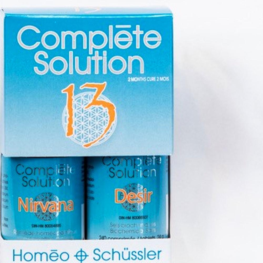 Complète solution 13 Nirvana (30 ml) + Désir (240 comprimés)