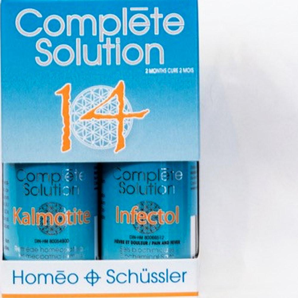Complète solution 14 Kalmotite (30 ml) + Infectol (240 comprimés)