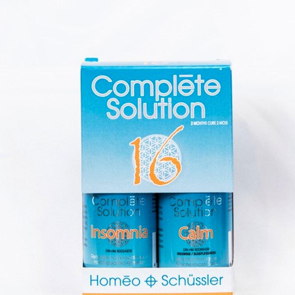 Complète solution 16 Insomnia (30 ml) + Calm (240 comprimés)