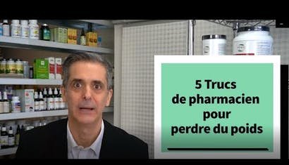 Le Pharmacien Jean-Yves Dionne vous révèle 5 secrets sur les suppléments  pour perdre du poids